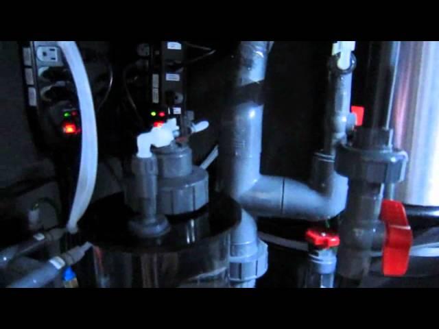 300 gallon reef tank sump and plumbing