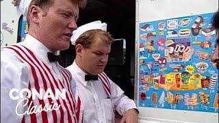 Conan & Andy Drive An Ice Cream Truck - Conan25: The Remotes