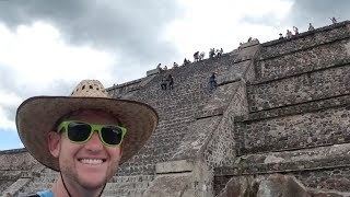 #739 The Ancient Teotihuacán Pyramids of Mexico City! - Jordan The Lion Daily Vlog (8/15/18)