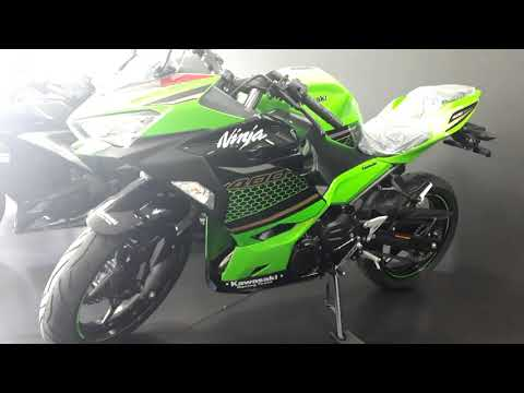 Ninja 400 modelo 2020 KRT,novo grafismo e preço.