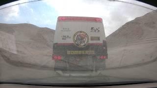 Oops towing truck onboard view Dakar Rally Tim en Tom Coronel! 🇵🇪