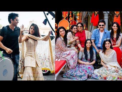 Samantha Akkineni shares adorable moment with daggubati family and naga chaitanya