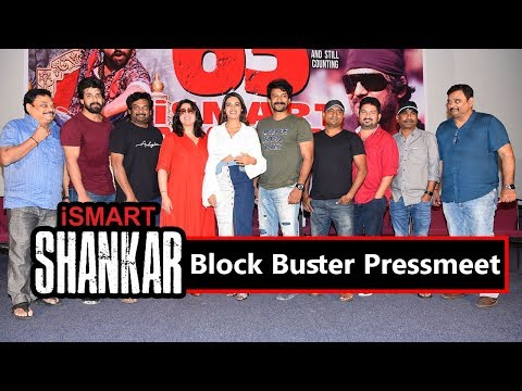 Ismart Shankar Movie Team Success Meet