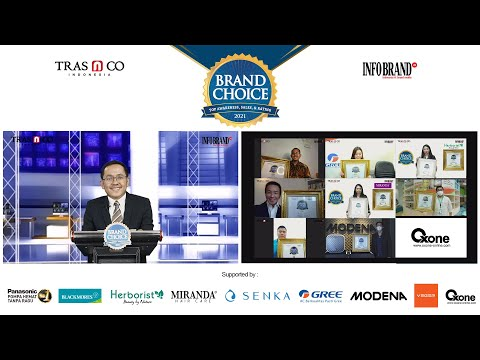 Virtual Award Ceremony Brand Choice Award 2021