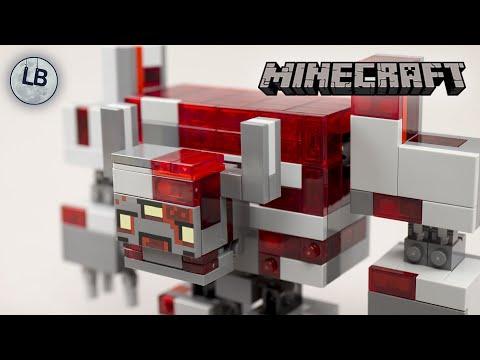 Vidéo LEGO Minecraft 21163 : La bataille de la Pierre rouge