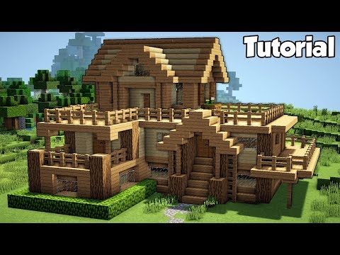 Minecraft Starter House Tutorial How To Build A House In - Minecraft haus anleitung deutsch