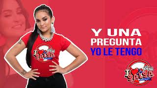 Con Mi Amiga  - Daniela Darcourt (Lyric Video) [I Love Salsa Perú]