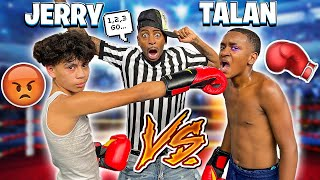 JERRY HAD A BOXING MATCH WITH TALAN BECAUSE HE'S DATING HIS EX GIRLFRIEND!💔🥊