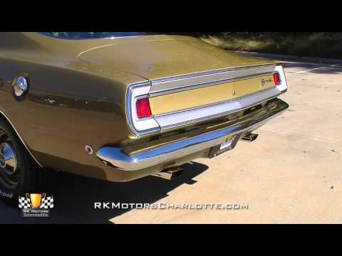 1968 Plymouth Barracuda Formula S Video