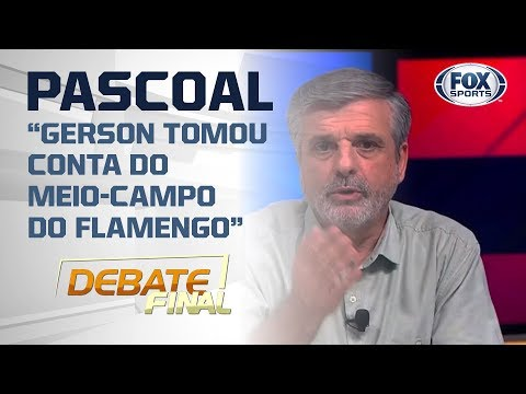 PASCOAL CITA NOME DO FLAMENGO PARA SELEÇÃO OBSERVAR