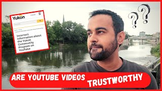 Should you trust youtube videos for your immigration?