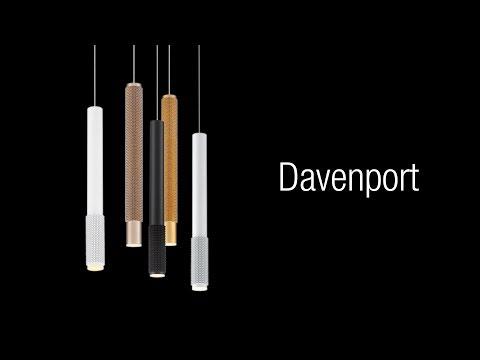 Video for Davenport Aluminium One-Light 2-Inch LED Mini Pendant with 3000 Kelvin 255 Lumens