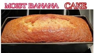 Moist BANANA CAKE Recipe | Kusina Ni Munica