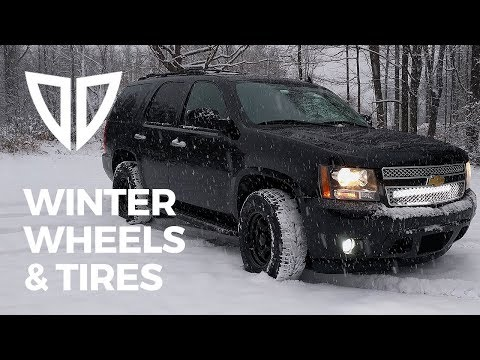New Winter Wheels & Tires for the Tahoe on a Budget - Nokian Nordman 7 & Black Rock 997