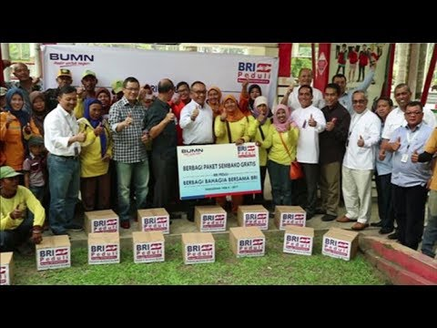 BRI Peduli | Berbagi Bahagia Bersama Kanwil BRI Medan di Bulan Ramadhan 1438 H / 2017