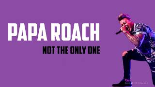 Papa Roach   Not The Only One (Lyrics)