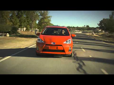 2012 Toyota Prius C official video