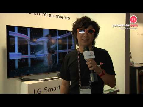 Smart TV de 55 pulgadas en el LG InnoFest 2013