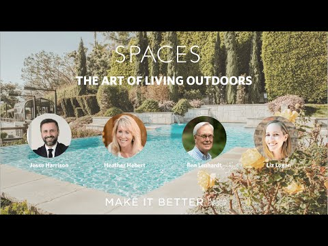 SPACES: The Art of Living Outdoors