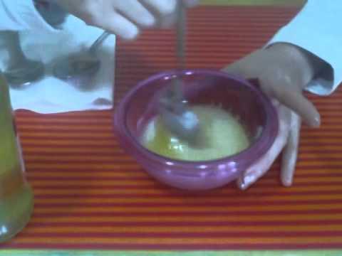 Chiarificazione di olio di capelli di cannella