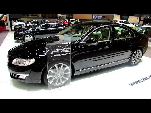 2014 Volvo S80 T5 - Exterior and Interior Walkaround - 2014 Geneva Motor Show