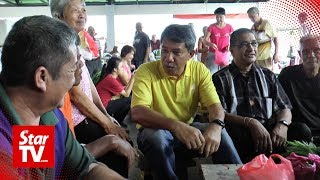 'Victory Lap' For Tok Mat In Rantau Market