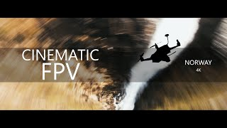 Cinematic FPV in Norway 4k | Diving mountains, waterfalls and clouds фото