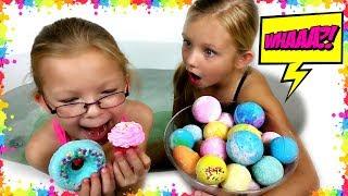 BATH BOMB Challenge!!! - Magic Box Toys Collector