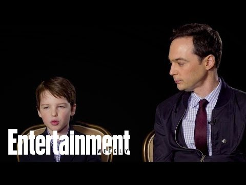 Jim Parsons Says It's Mind-Blowing To Watch Iain Armitage In 'Young Sheldon' | Entertainment Weekly