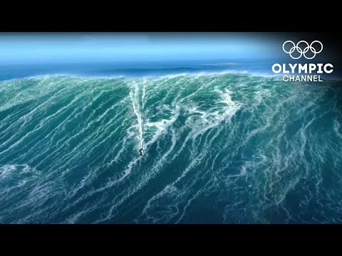 Extreme Sports - Surfing 31-feet Tall Waves