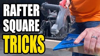 How to Make Straight Cuts with a Circular Saw and Rafter Square | Training the Apprentice
