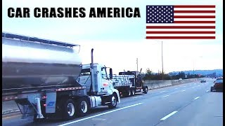 CAR CRASHES IN AMERICA #14 | BAD DRIVERS USA, CANADA | NORTH AMERICAN DRIVING FAILS