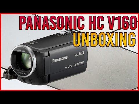 Unboxing Videocámara Panasonic HC V160