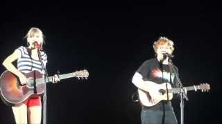 Ed Sheeran, Everything Has Changed Taylor Swift ft Ed Sheeran Vancouver B.C
