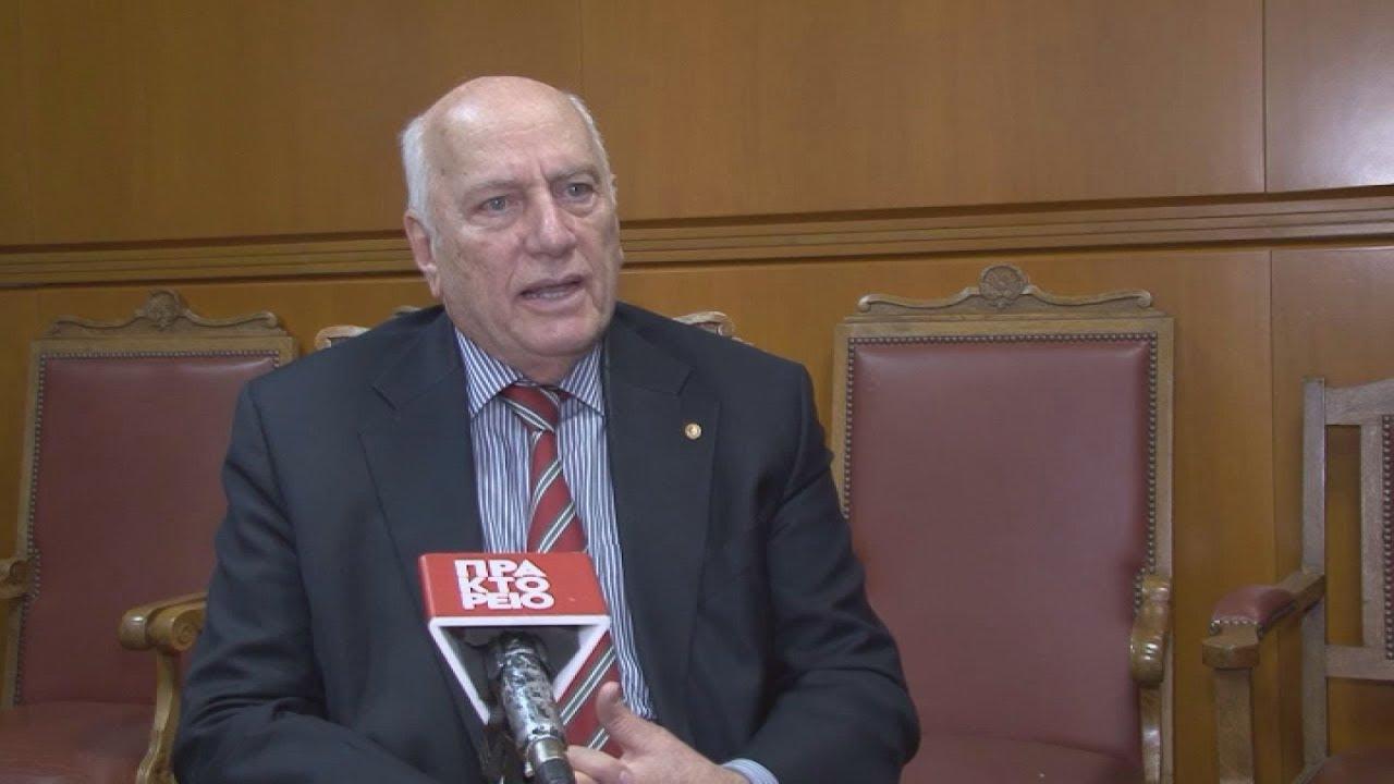 Ο επίτιμος καθηγητής του τμήματος Φυσικής του ΑΠΘ, Χρήστος Ζερεφός στο ΑΠΕ-ΜΠΕ