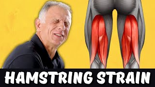 5 Simple Steps to HEAL Hamstring Strain FAST!!