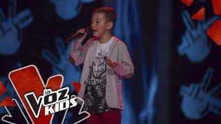 Julián canta No Me Doy Por Vencido – Audiciones a Ciegas | La Voz Kids Colombia 2019