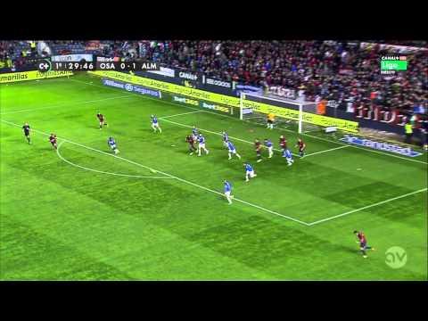 Scouting Ramon Azeez (Almería) vs Osasuna