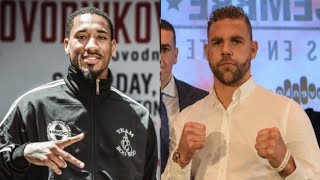 EDDIE HEARN TO SIGN ANDRADE, TO ALLOW DUCK B.J SAUNDERS | Kholo.pk