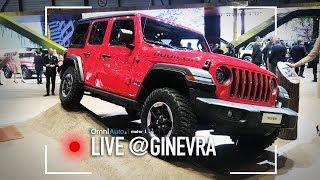 Nuova Jeep Wrangler   Salone di Ginevra 2018