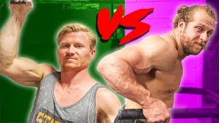 WHO BUILDS STRONGER ARMS? PRO CLIMBER VS BODYBUILDER