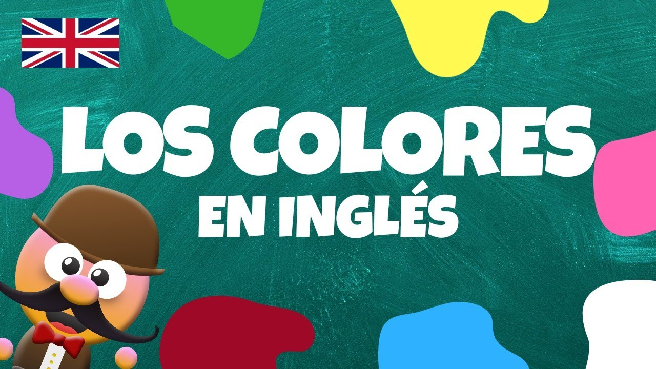 INGLÉS PARA NIÑOS CON MR PEA - LOS COLORES - COLOURS / WHAT IS THE COLOUR OF...?