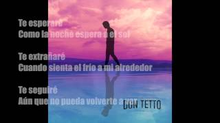 DON TETTO Cambios (lyrics)