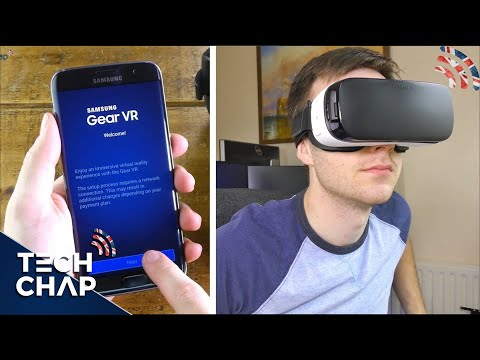 Samsung Gear VR SETUP & REVIEW | Galaxy S7 / S7 Edge (4K)