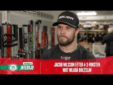 Youtube: Jacob Nilsson sammanfattar 4-3 mot Mladá Boleslav