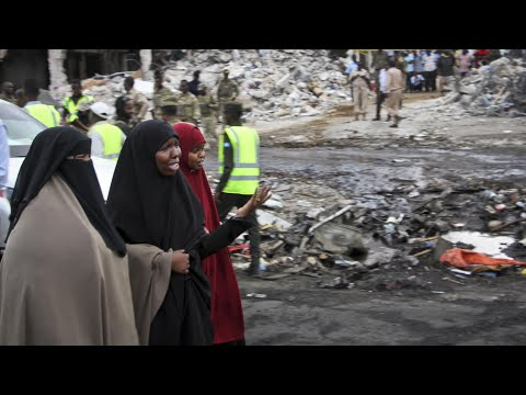 'It was a massacre': witness describes Mogadishu blast