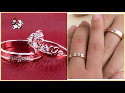 Couple Rings For Engagement And Wedding || Designer Rings