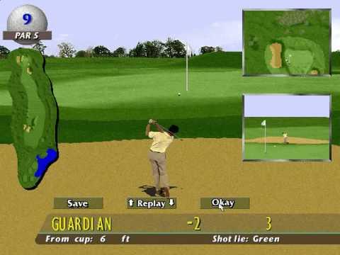 PGA European Tour Game Boy