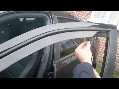 Team Heko Wind Deflectors Install & Review - Seat / VW / Audi / Skoda (or any car)