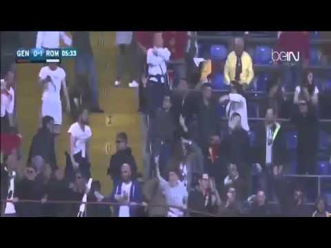 Mohamed Salah Goal Genoa vs AS Roma 0 1 Serie A 2016